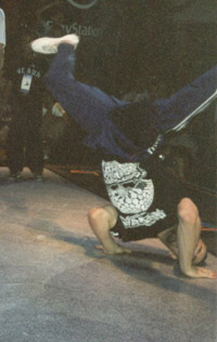 Asa doing a halol at UK Championships 1997