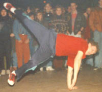 Nick doing swipes - 1990